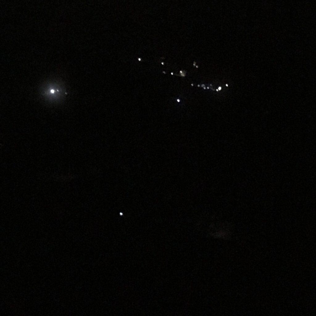 夜の富士山登山