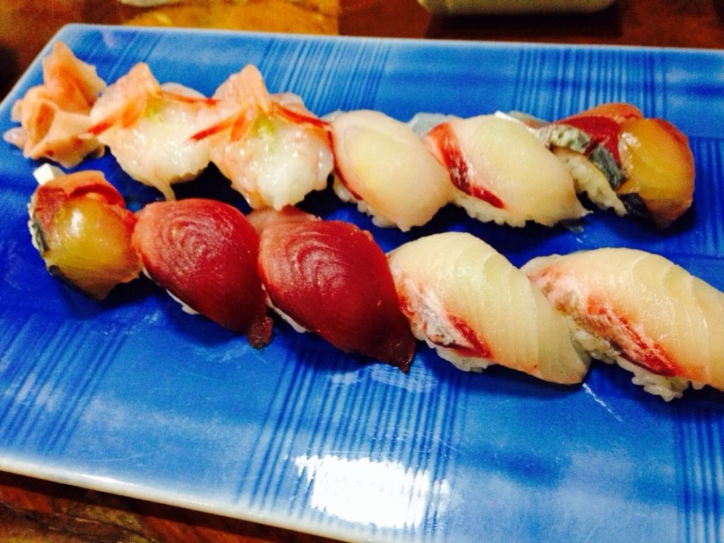 屋久島のお寿司