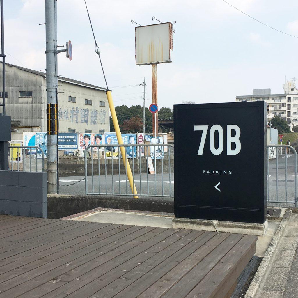 70B 看板