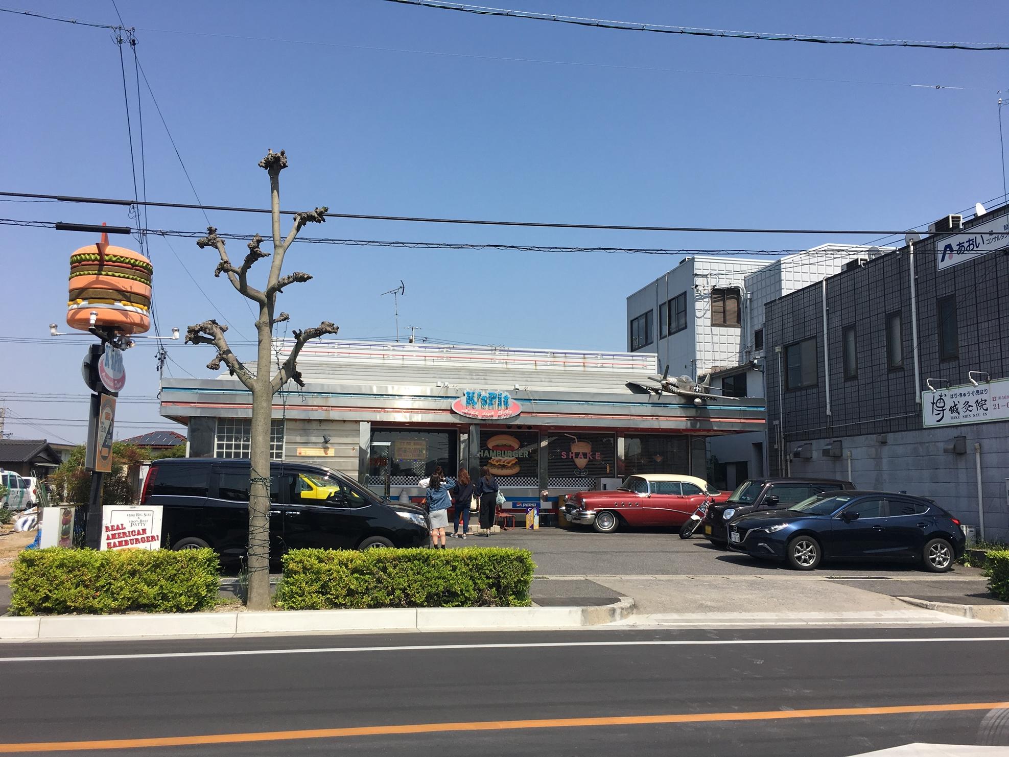 K's pit 駐車場