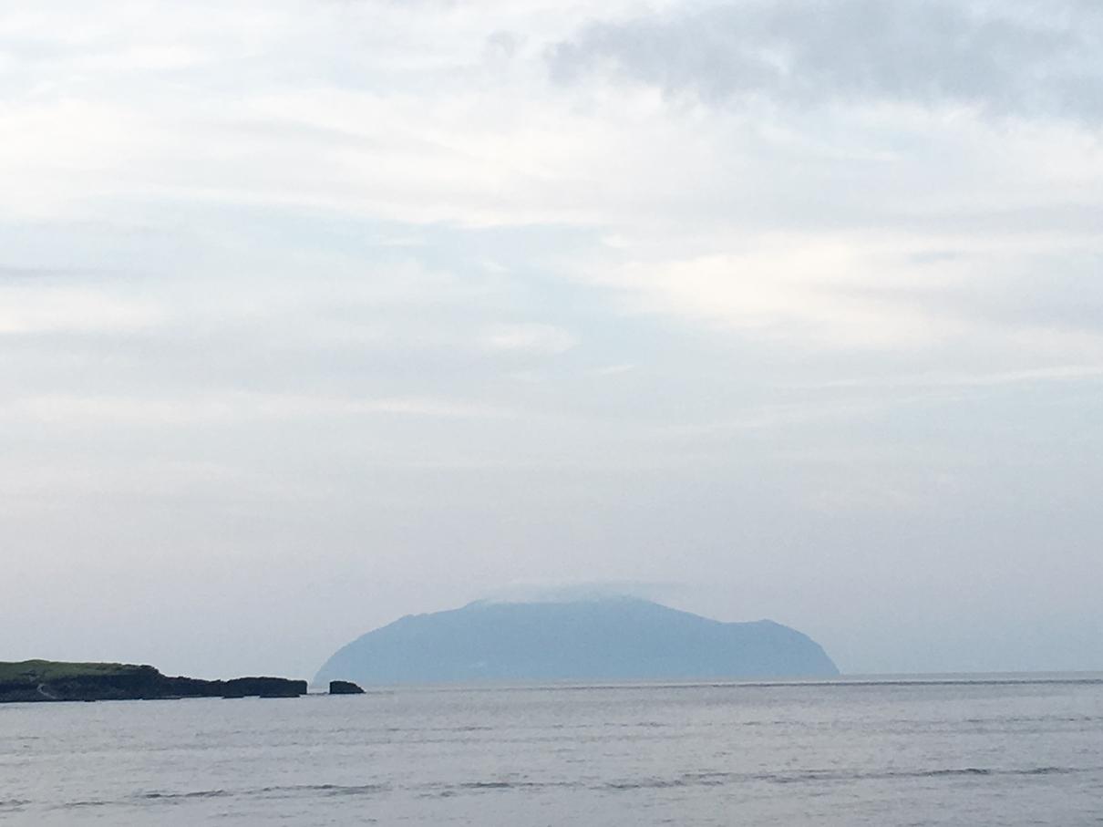 御蔵島 朝