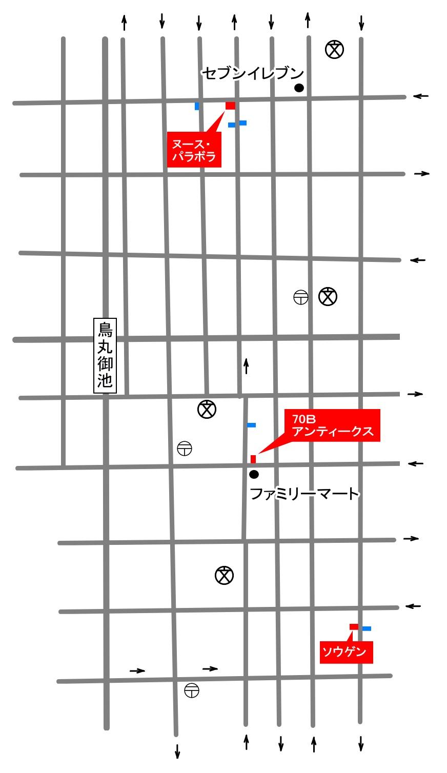 3店舗地図