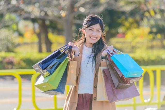 ショッピング 買い物 女性