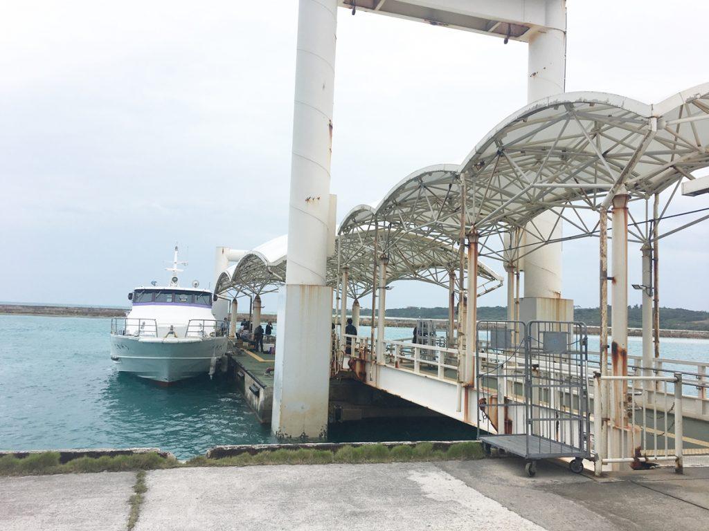 小浜島 船着き場