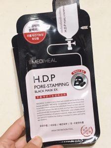 メディヒール H.D.P毛穴スタンプ炭ミネラルマスク