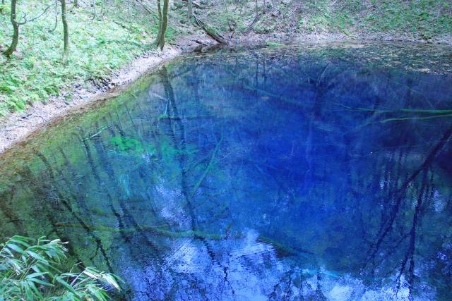 青森県の青池