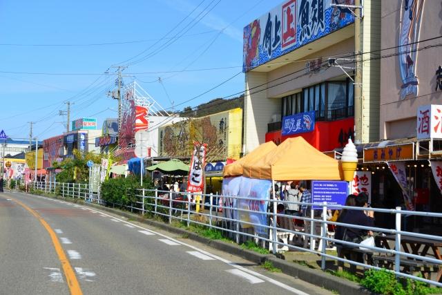新潟県のさかな市場