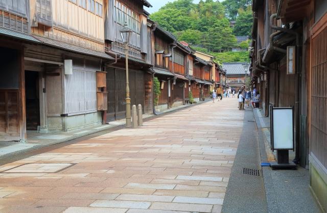 金沢の東茶屋街