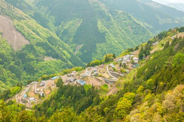 日本のチロルと呼ばれる景色
