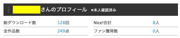 photoAC ダウンロード総数画面